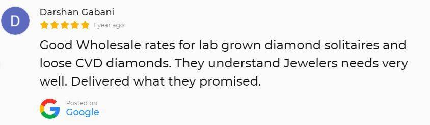 Google Review finegrowndiamonds